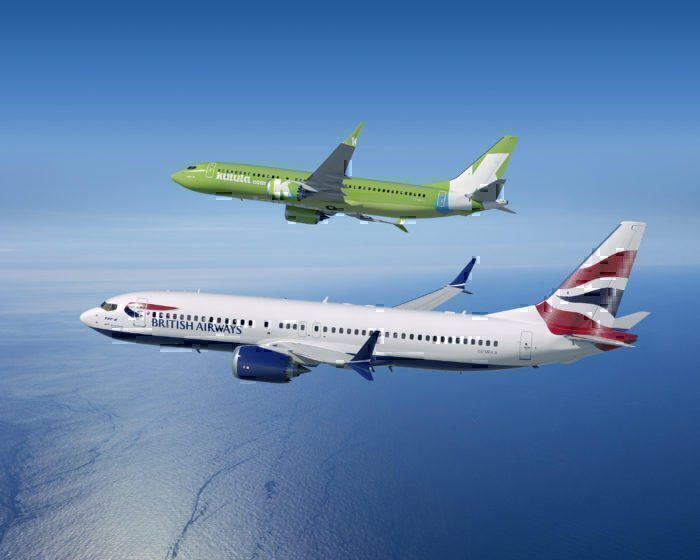 British Airways and Kulula 737