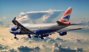 British Airways 747