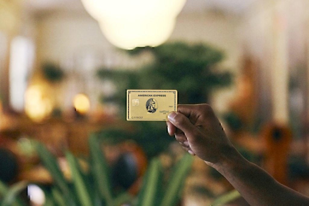 New Amex gold card