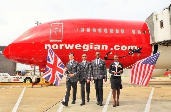 Norwegian transatlantic