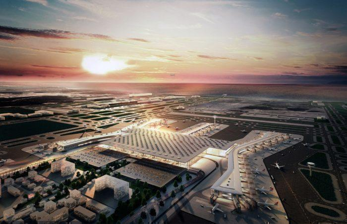 The new airport at Istanbul
