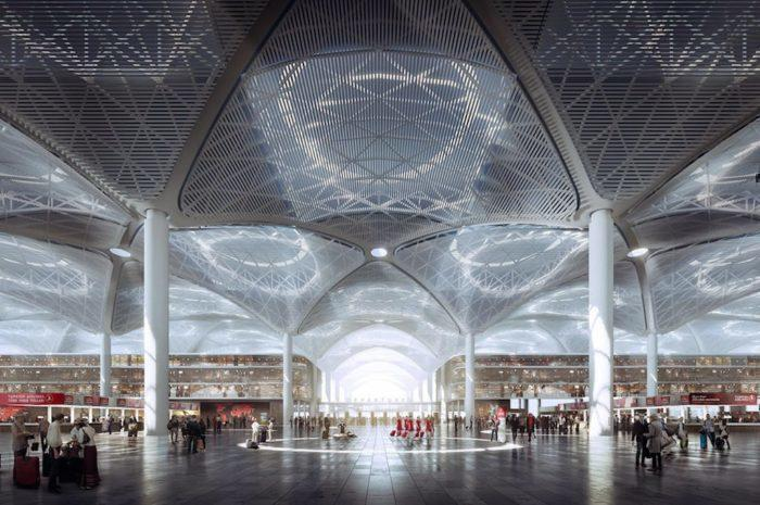 Istanbul new airport inside