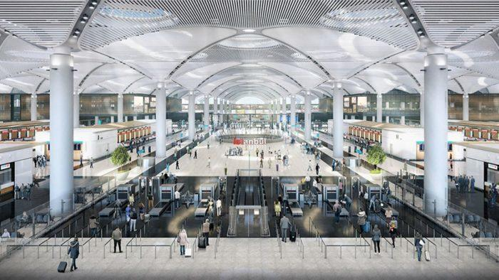Istanbul airport inside