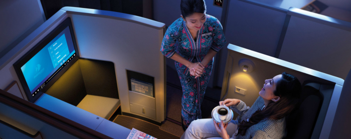 Malaysian Airlines A350 First class