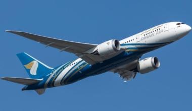 Oman Air Boeing 787