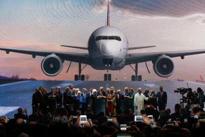 President Recep Tayyip Erdogan opens new Istanbul Airport