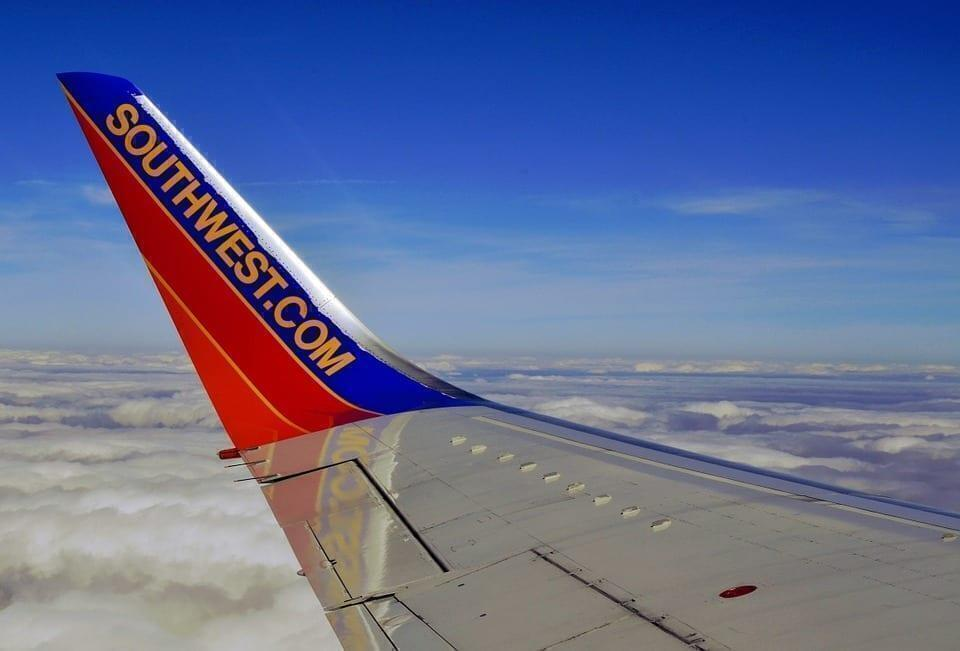 Southwest airlines wing