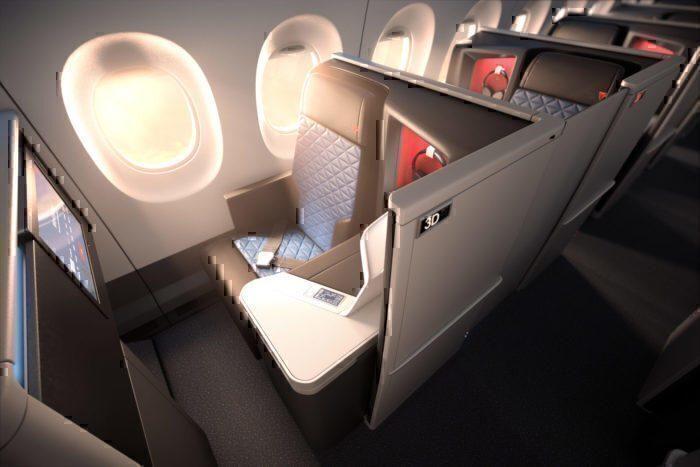 new business class seats