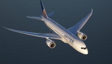 United's 787 Dreamliner