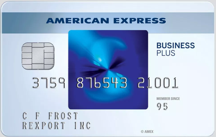 Overview Of The The Blue Business Plus Credit Card From American