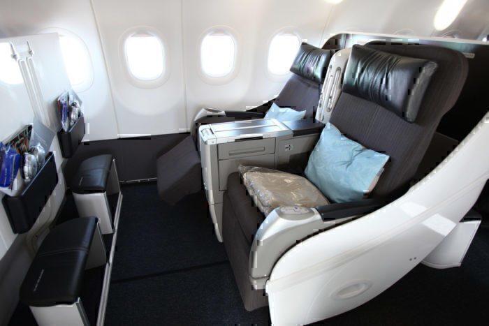 The All Business Class A318 Transatlantic Flight: Flying BA1