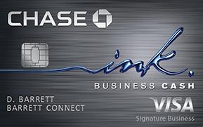 Ink Cash card