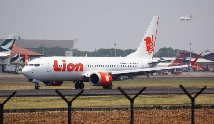 A Lion Air 737 MAX8