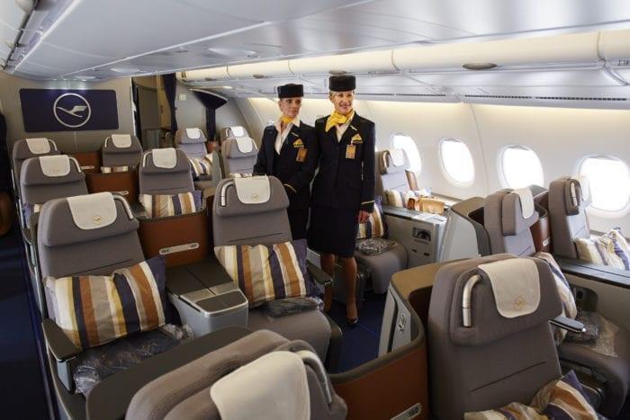 Lufthansa Business Class seats