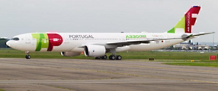 TAP Portugal's brand new A330neo