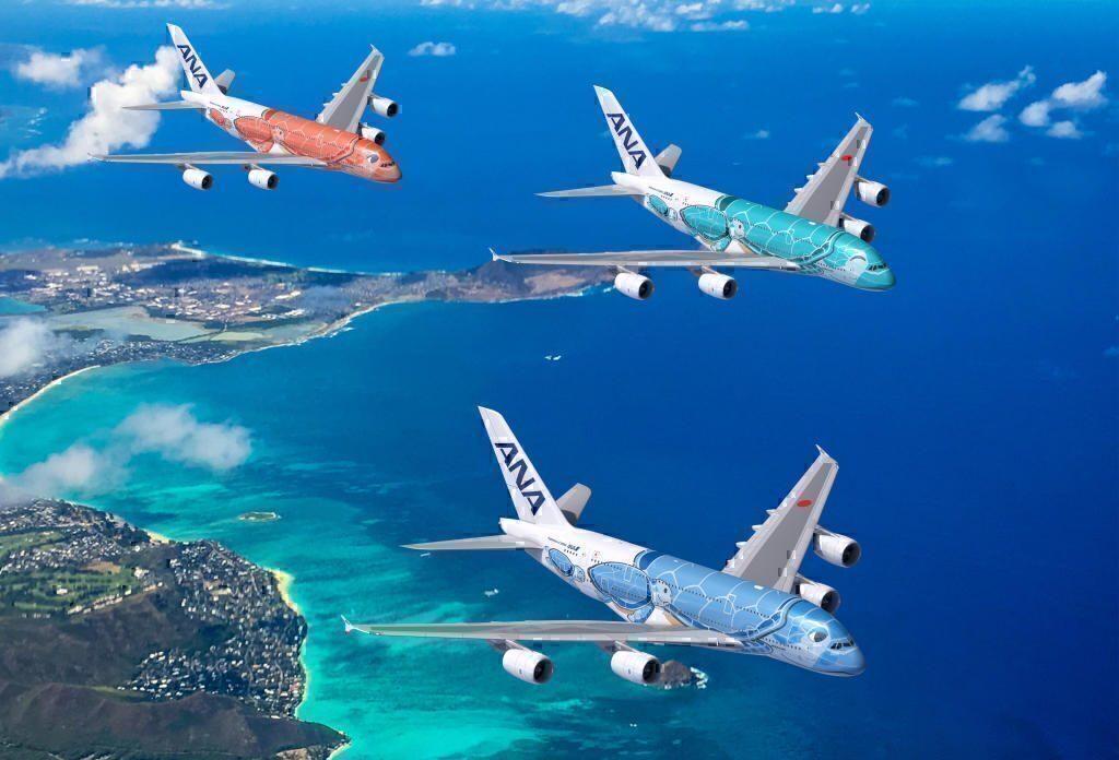 ANA A380 livery