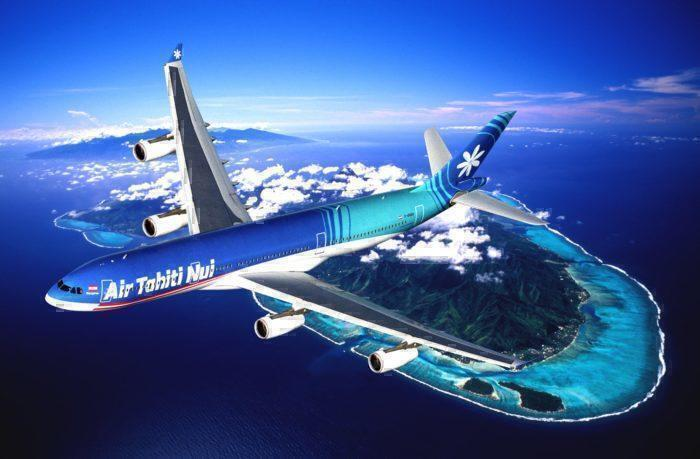 Air Tahiti Nui 787 Completes It's First Commercial Flight To Auckland