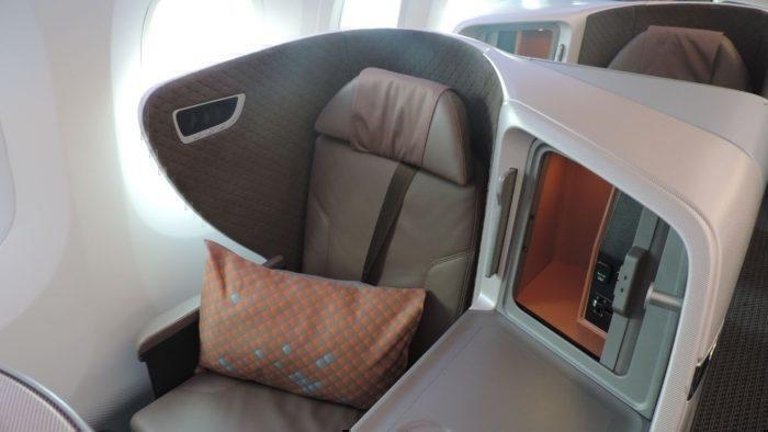 Singapore Airlines 787-10 Business Class Review – Singapore to Bali (Denpasar)