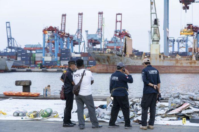 Debris from the Lion Air crash