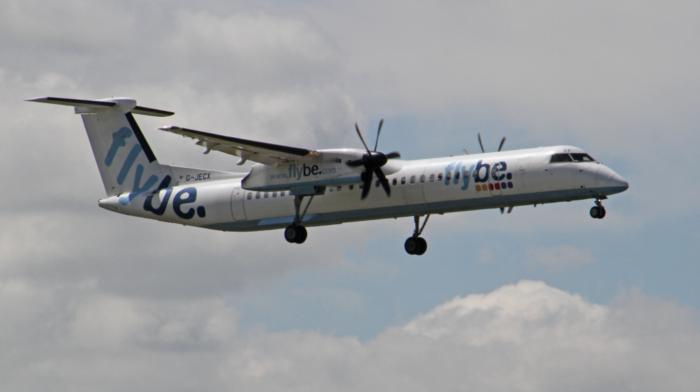Flybe Dash 8 Q400 Interior