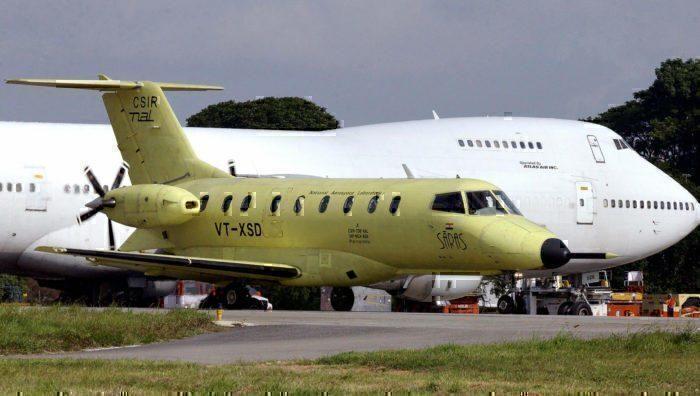 A prototype of India's Saras aircraft