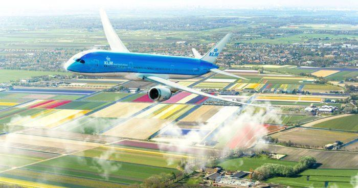KLM over holland