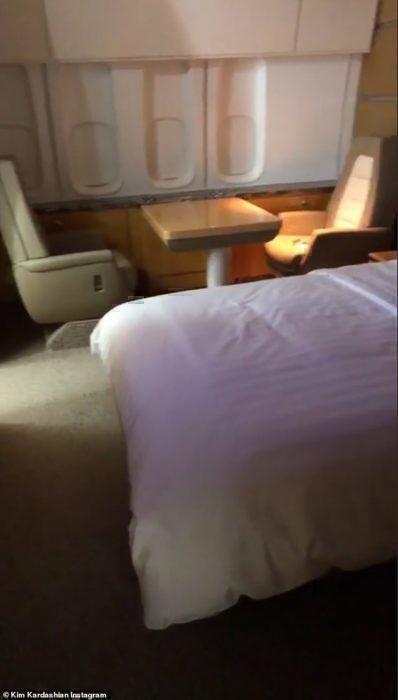 Kimye 747 bedroom