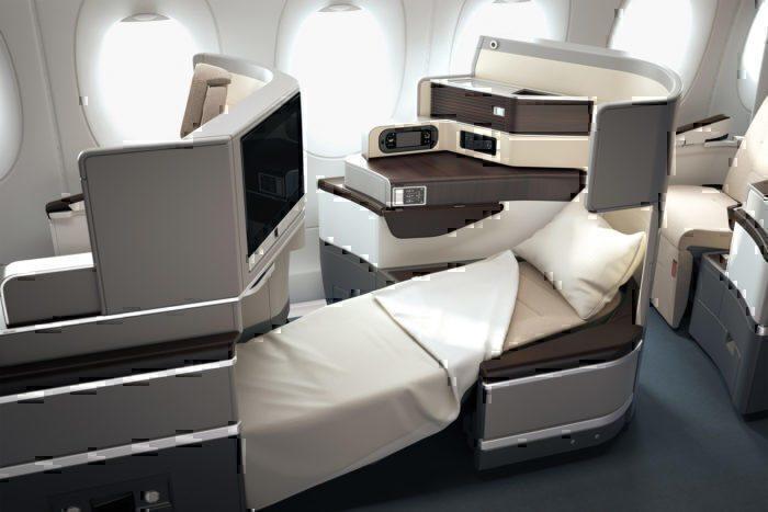 TAP a330-900 business class