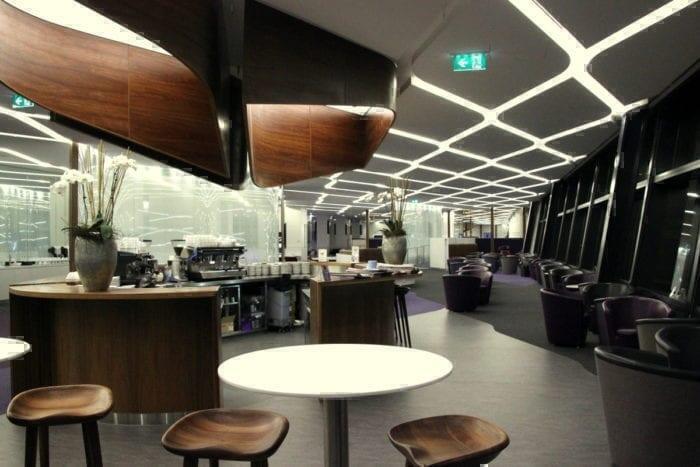 Virgin Australia's Lounge in Melbourne