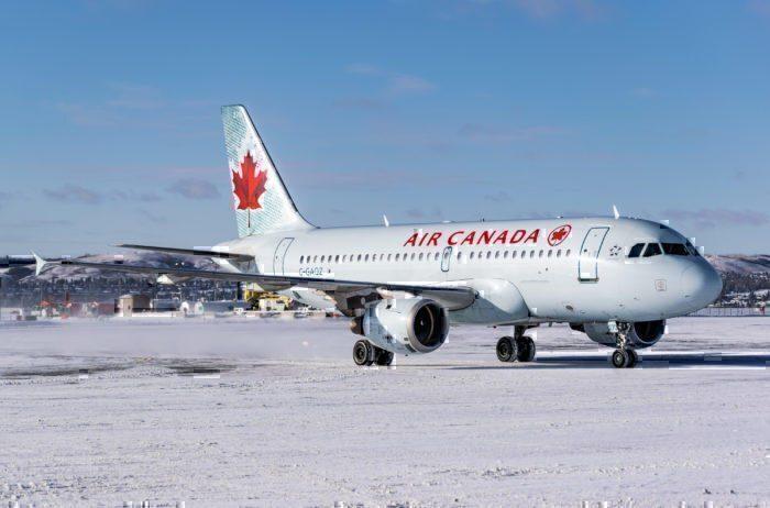 Air Canada winter