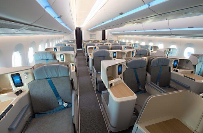 air mauritius A350 business