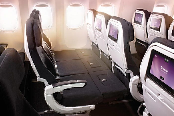 The Sky Couch as seen on Air New Zealand.