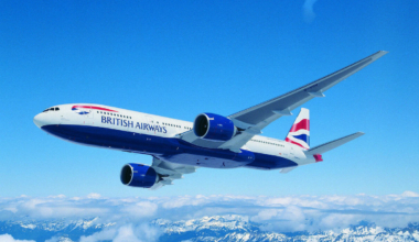 British Airways plane