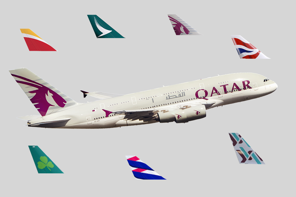 Is Oneworld Over? Qatar Airways Could Launch Their Own Mega Airline ...