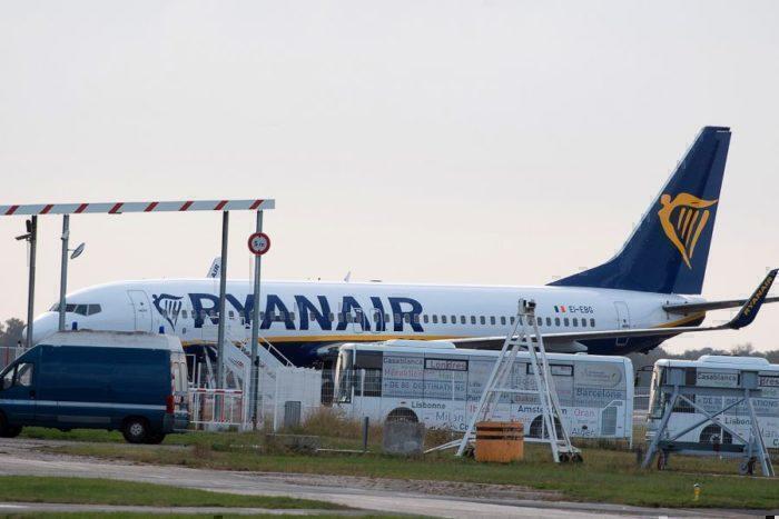 ryanair seized aircraft