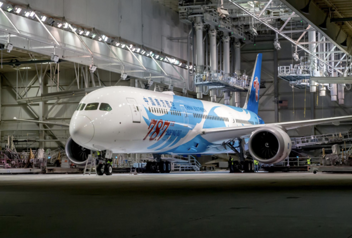 China Southern Takes Delivery Of The 787th Boeing 787