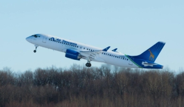 Air Tanzania's First A220