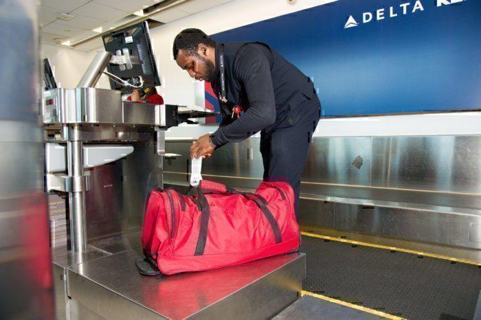 Delta checked baggage