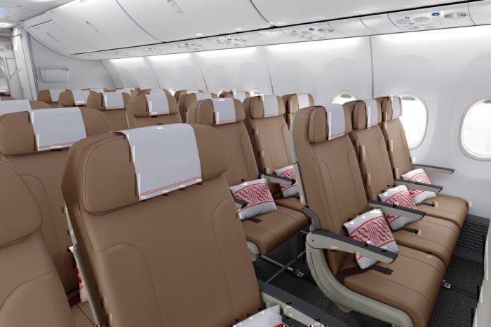 Fiji air 737 max economy