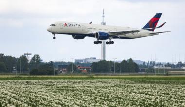 Delta plane getty