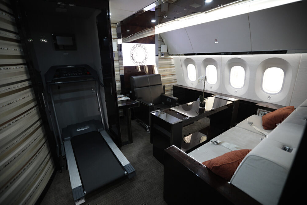 Office Mexico Boeing 787 Getty