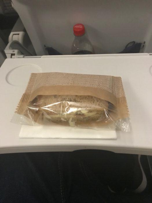 Economy Meal on Lufthansa Short Haul