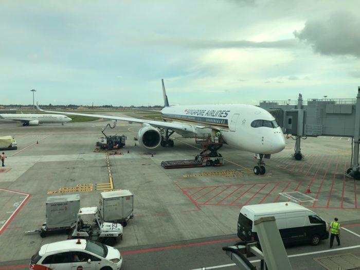 Flying The World's Shortest Airbus A350 Flight - Just 30