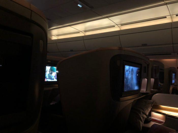 Singapore Airlines A350 Cabin