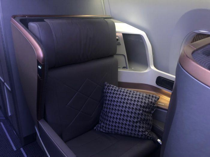 Singapore Airlines A350-900 Business Class