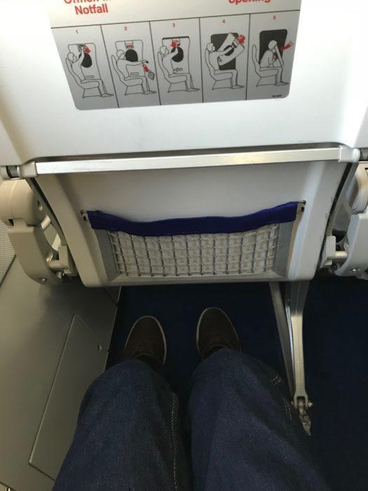 Legroom 12A Lufthansa
