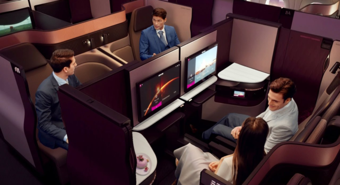 Redeem Your BA Avios for the fabulous Qatar Qsuites