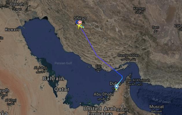 Norwegian 737 Still Stuck In Iran And It's Been 3 Weeks