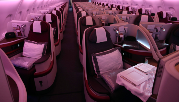Still a great product Qatar Airways A380-800 Business Class