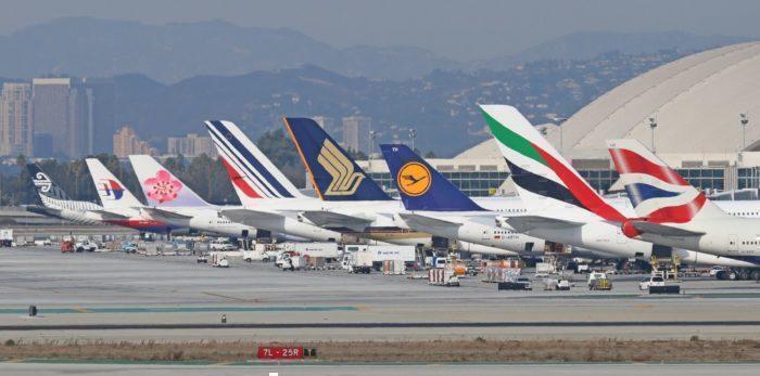 aircraft tailfins